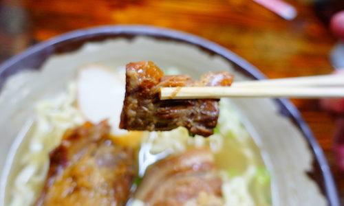 【沖縄グルメ】読谷村にある沖縄そば屋「花織(はなうい)そば」は軟骨ソーキにちぢれ麺で大変美味でした♪